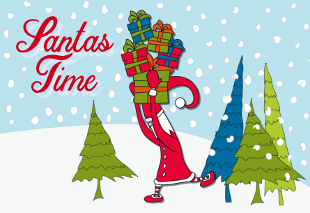 iMessage Stickers – Santas Time