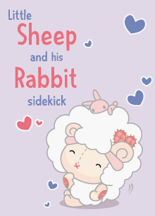 Little Sheep and his Rabbit sidekick